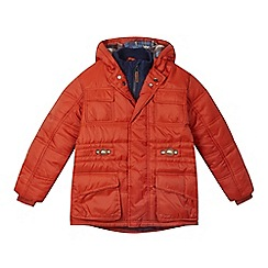 Mantaray - Boys' orange padded jacket