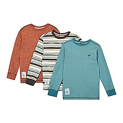 Mantaray - Pack of three boys' assorted long sleeved tops