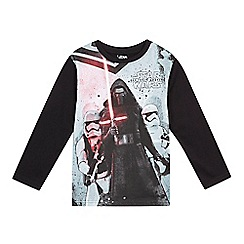 Star Wars - Boys' black Kylo Ren top