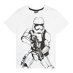 Star Wars - Boys' white Storm Trooper t-shirt