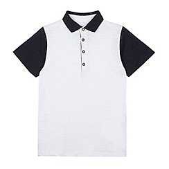 bluezoo - Boy's white polo shirt