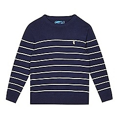 bluezoo - Boy's navy striped jumper