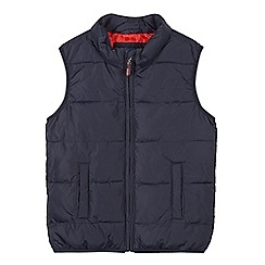bluezoo - Boy's navy lightweight gilet