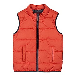 bluezoo - Boy's orange lightweight gilet