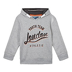 bluezoo - Boy's grey 'London' hoodie