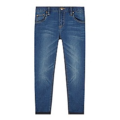 bluezoo - Boy's blue mid wash skinny jeans