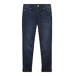bluezoo - Boy's dark blue super skinny jeans