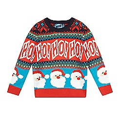 bluezoo - Boys' multicoloured Christmas jumper