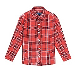 bluezoo - Boys' check long sleeve shirt