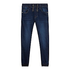 bluezoo - Boys' blue denim jogger jeans