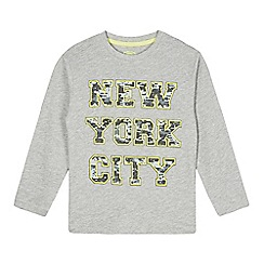 bluezoo - Boy's grey 'New York City' top