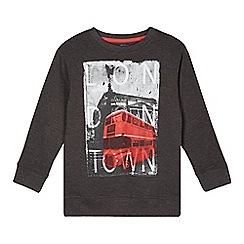 bluezoo - Boy's grey London scene sweat top