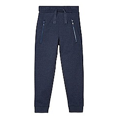 bluezoo - Boy's navy cuffed jogging bottoms