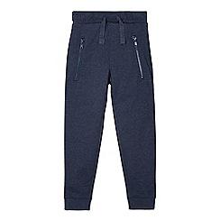 bluezoo - Boy's navy cuffed jogging bottoms