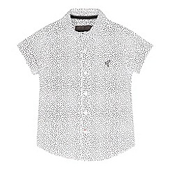 RJR.John Rocha - Boys' white geometric shirt
