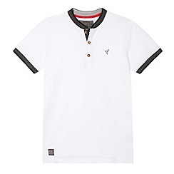 RJR.John Rocha - Boy's designer white textured collar shirt