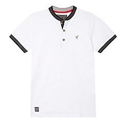 RJR.John Rocha - Boy's designer white textured collar shirt