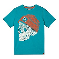 Animal - Boy's blue skull graphic t-shirt