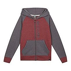 Animal - Boys' maroon logo hoodie