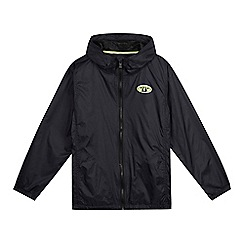 Animal - Boys' navy hooded jacket