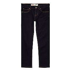 Levi's - Boy's dark blue 510 skinny jeans