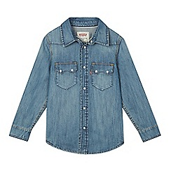 Levi's - Boy's blue denim shirt