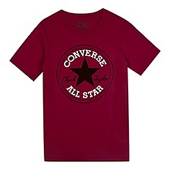 Converse - Boy's red Chuck Taylor t-shirt