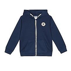 Converse - Boys' navy zip hoodie