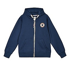 Converse - Boy's navy 'Chuck Taylor' sweat hoodie