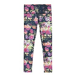 Converse - Girls' black sublimated leggings