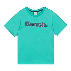 Bench - Boys' green logo print t-shirt