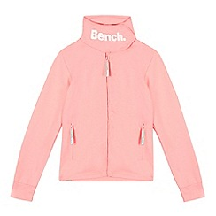 Bench - Girls' pink funnel neck sweater