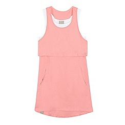 Bench - Girls' pink layered waist dress