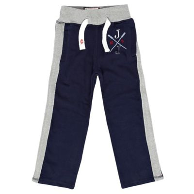 Boys Navy Jogging Bottoms
