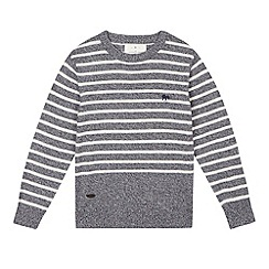 J by Jasper Conran - Boys' blue striped jumper