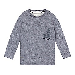 J by Jasper Conran - Boys' grey boucle sweater