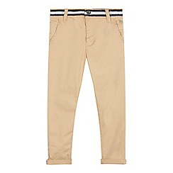 J by Jasper Conran - Boys' beige slim fit chinos