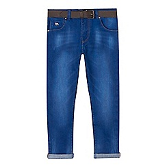 J by Jasper Conran - Boys' blue slim for jeans with belt