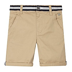J by Jasper Conran - Boys' beige chino shorts