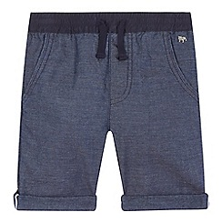 J by Jasper Conran - Boys' grey chambray chino shorts