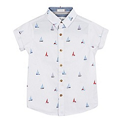 J by Jasper Conran - Boys' white yacht print shirt