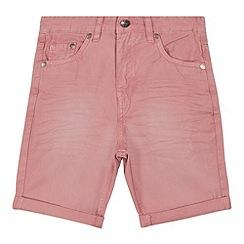 bluezoo - Boys' pink twill shorts
