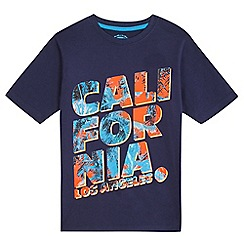 bluezoo - Boys' navy California tee