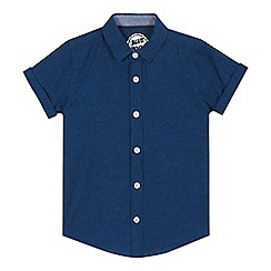 bluezoo - Boys' navy short sleeved shirt