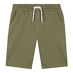 bluezoo - Boys' khaki jersey shorts