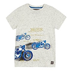 RJR.John Rocha - Boys' grey motorcycle print t-shirt