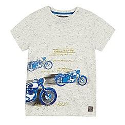 RJR.John Rocha - Boys' grey motorcycle print t-shirt