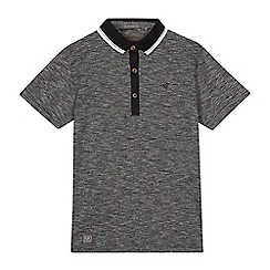 RJR.John Rocha - Boys' grey striped polo shirt