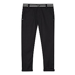 RJR.John Rocha - Boys' dark grey textured trousers