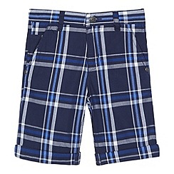 RJR.John Rocha - Boys' blue checked shorts